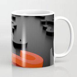 3D The Question Mark Coffee Mug