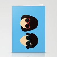 submarine Stationery Cards featuring Submarine by Loverly Prints