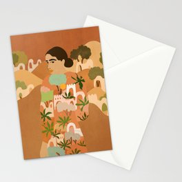 Freedom in Morocco Stationery Cards