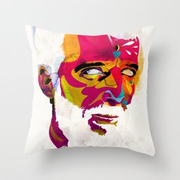 Mr.K Throw Pillow