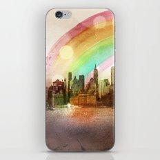 NYC Sky iPhone & iPod Skin