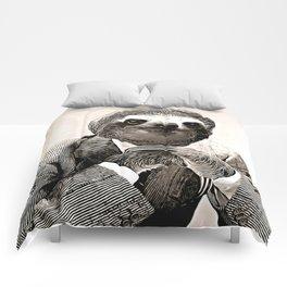 Gentleman Sloth with Assorted Pose Comforters