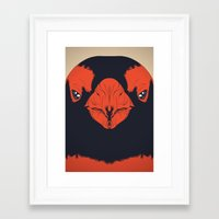 penguin Framed Art Prints featuring Penguin by CranioDsgn