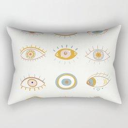 Evil Eyes I Rectangular Pillow