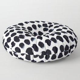 Black Dots Floor Pillow