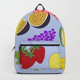 Fruit! in Sky Blue Backpack