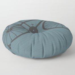 Grey Bike by Friztin Floor Pillow