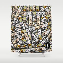 24 naked chicks Shower Curtain