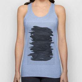 Abstract Minimalism #2 #minimal #ink #decor #art #society6 Unisex Tank Top