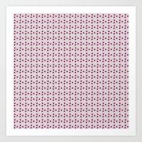 Pink Dots Art Print