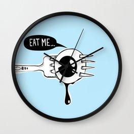Eat Me! Wall Clock