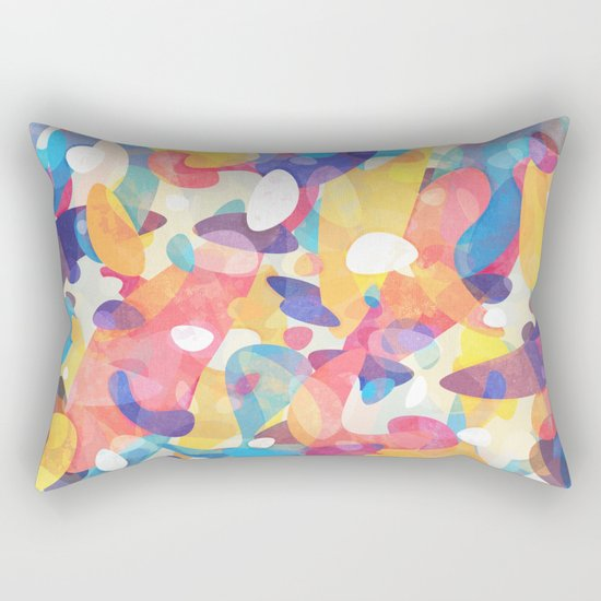 Chaotic Construction Rectangular Pillow