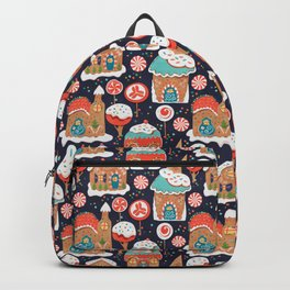 Gingerbread Candy Land Backpack