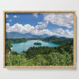 Lake Bled, Slovenia Serving Tray