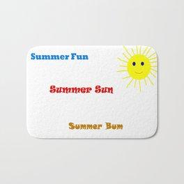 Summer Bum Bath Mat