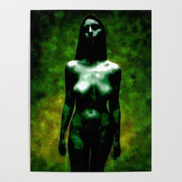 """NUDE """"walk in green"""" Poster"""