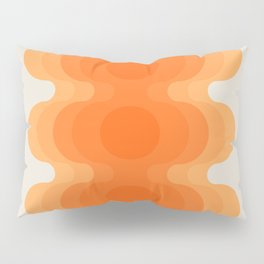 Echoes - Creamsicle Pillow Sham