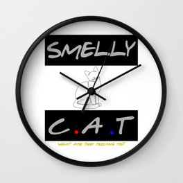 Smelly Cat Wall Clock