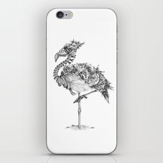 Panacea (Black and White Version) iPhone & iPod Skin