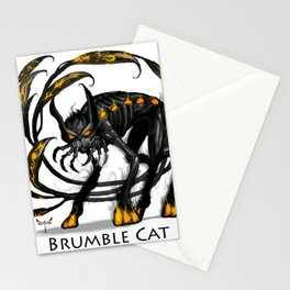Brumble Cat Stationery Cards