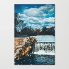 Waterfall afternoon Canvas Print
