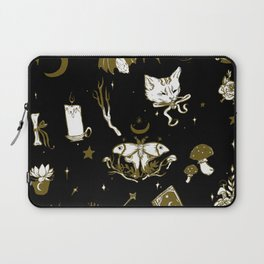 Midnight Moon Witch Laptop Sleeve