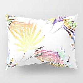 Vibrant Jungle Palmetto Fronds Pillow Sham