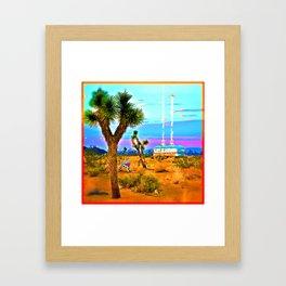 Landing in Landers Framed Art Print