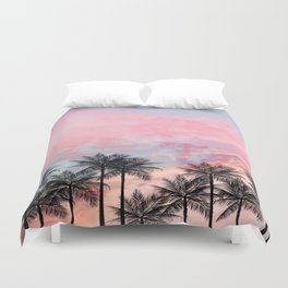 Summer Palm Tree #Society6 #Buyart #Decor Duvet Cover