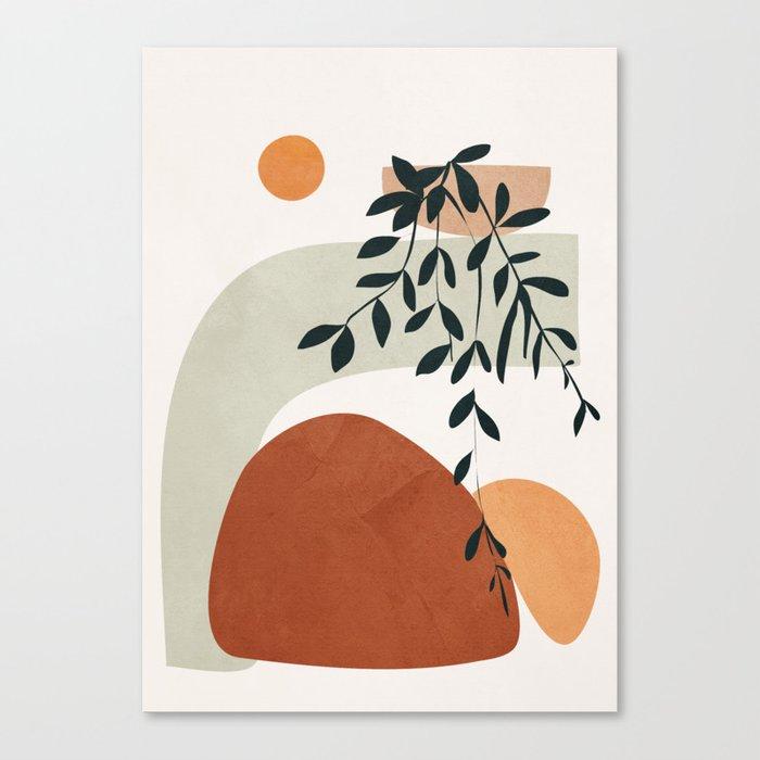 Soft Shapes I Canvas Print by cityart7
