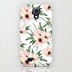Pink bouquet. Watercolor Slim Case Galaxy S4