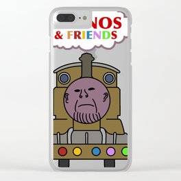 mean little engine Clear iPhone Case