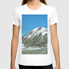 Mont-Saint-Pierre in Winter T-shirt