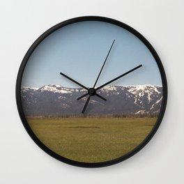 Calling You Back Wall Clock