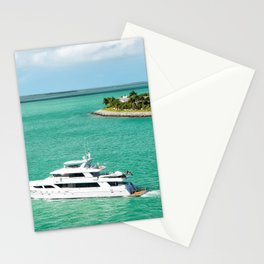 Miami Yacht Stationery Cards