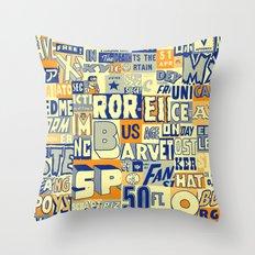 Komik Throw Pillow