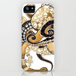 Metallic Octopus iPhone Case