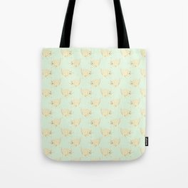 One Eyed Cat Tote Bag