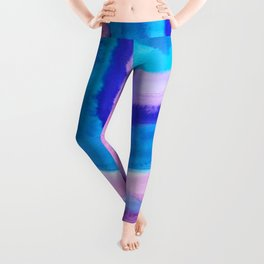 AGATE Inspired Watercolor Abstract 11 Leggings