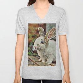 Toony Bunny Unisex V-Neck