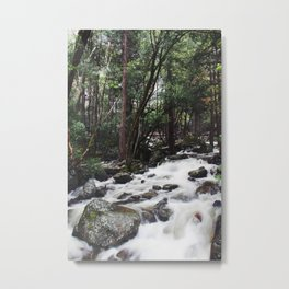Spring flow Metal Print