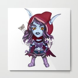 Sylvanas - Banshee queen mini Metal Print