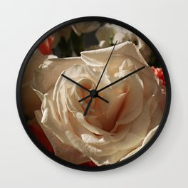 Opened by Candlelight Wall Clock