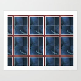 Pattern and Anomaly Project Two Art Print
