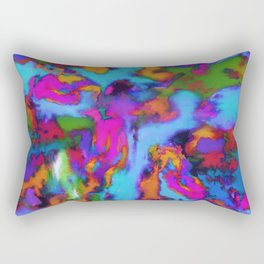 The fourth storm Rectangular Pillow