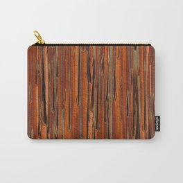 Copper Paint Stripe Carry-All Pouch