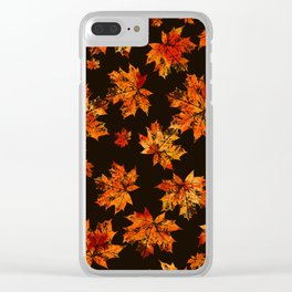 Autumn moods n.3 Clear iPhone Case
