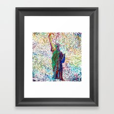 the Liberty Framed Art Print