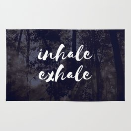 Inhale Exhale Rug