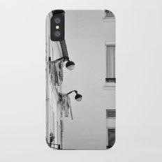 Paris, architecture and day to day life iPhone X Slim Case